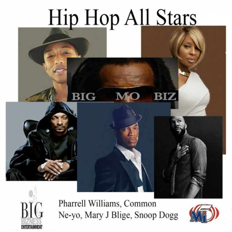 Ne-Yo D.K. Hip Hop All Stars Image